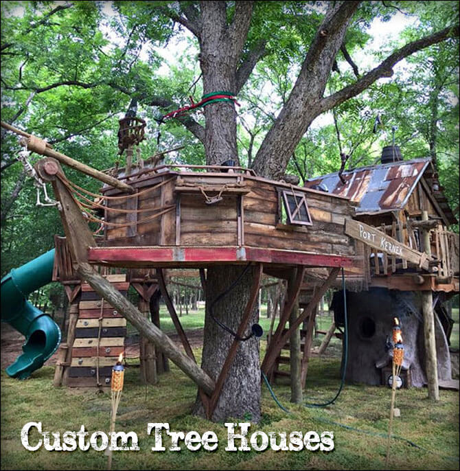 Shop Custom Tree Houses